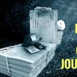 A murit gazetăria?